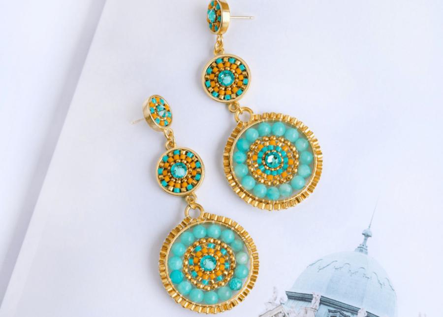eden elie | statement earrings