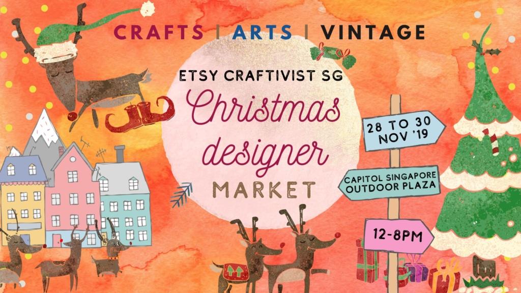 Christmas Designer Market by Etsy Craftivist SG