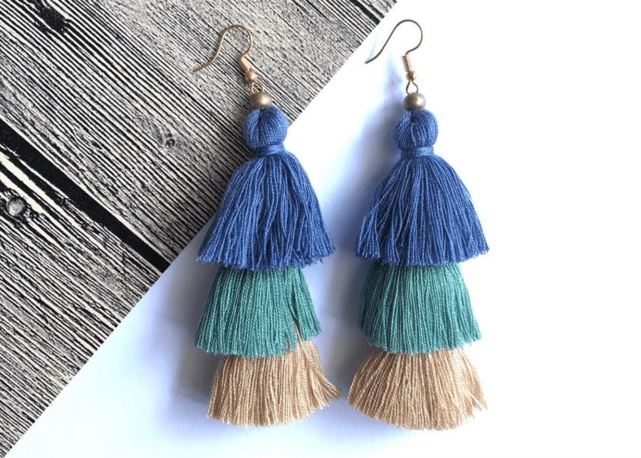 just gaya's | statement earrings