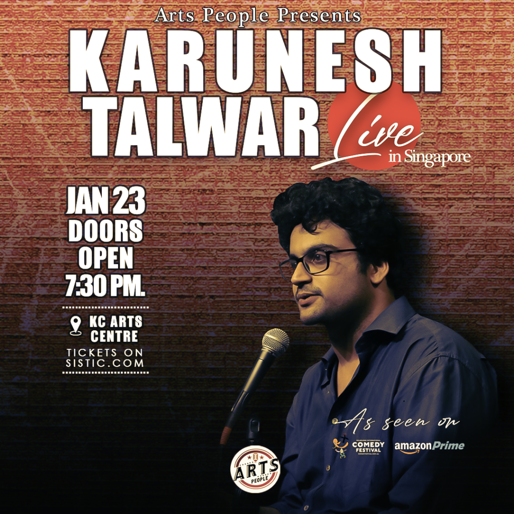 Karunesh Talwar Live in Singapore