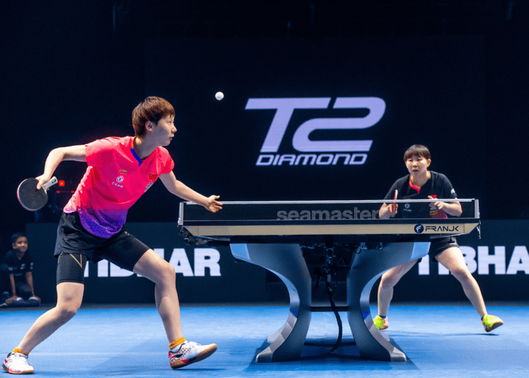 Battle of the best: Watch the top names in table tennis play to win at this thrilling tournament