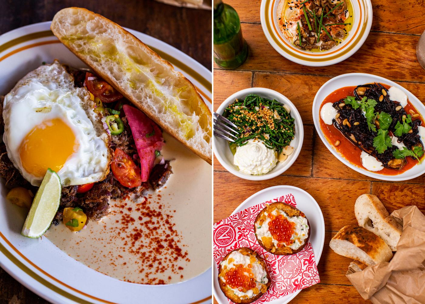 Communal dining in Singapore: Artichoke