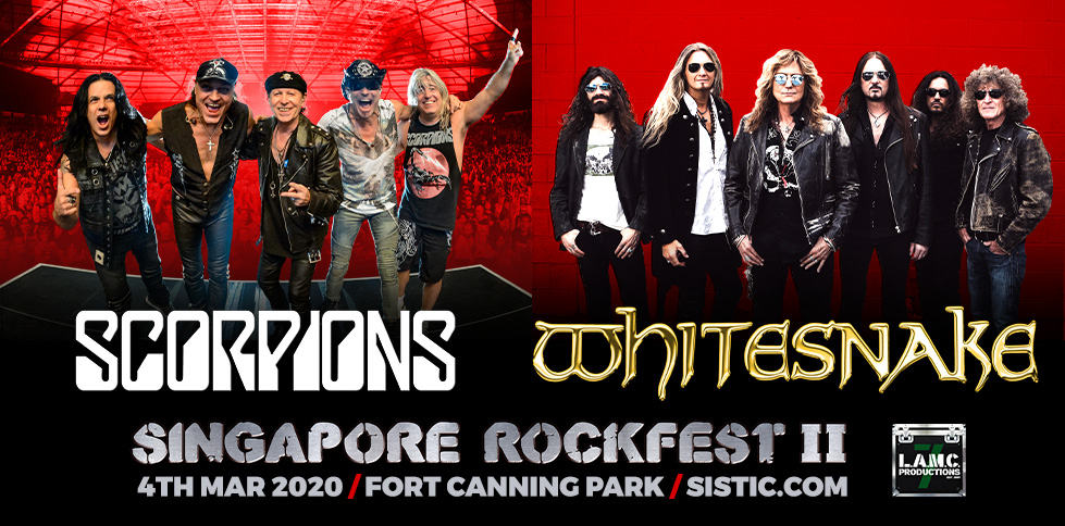 Singapore RockFest II: Scorpions & Whitesnake 2020
