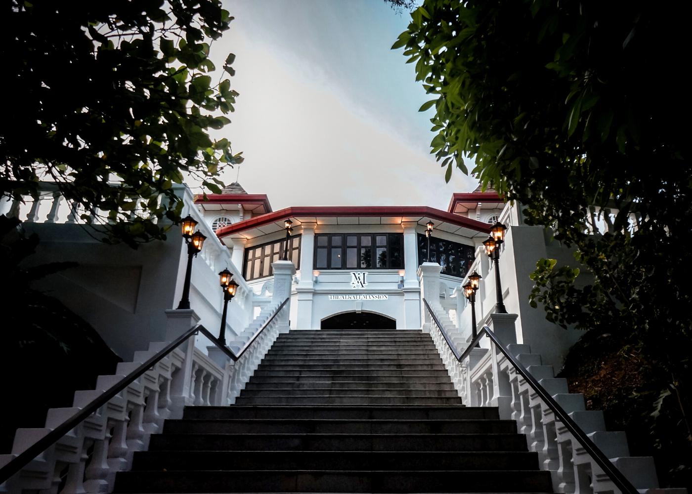 alkaff mansion exterior