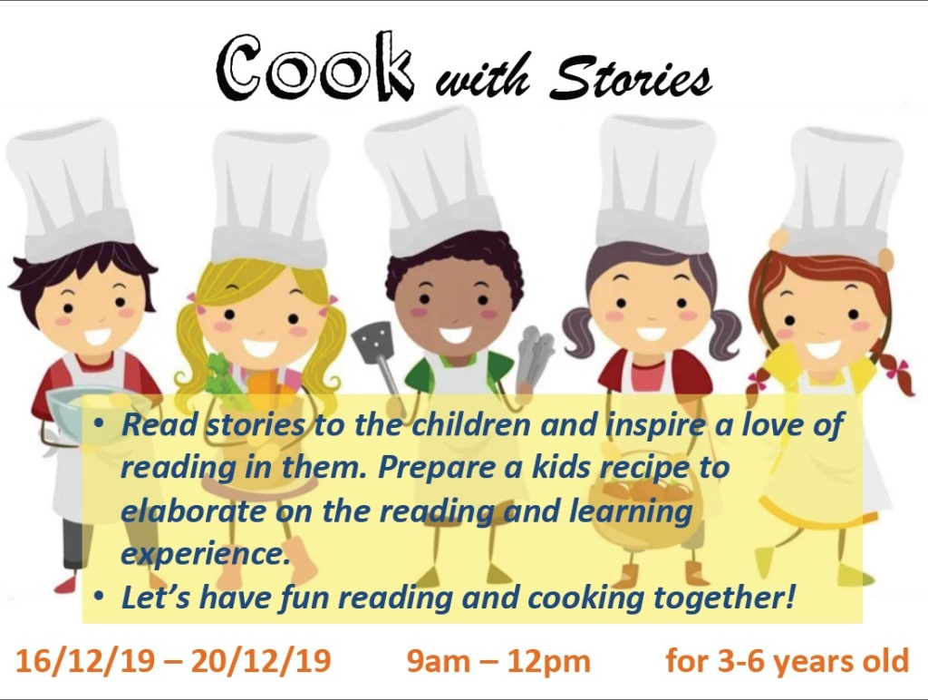 2019 Year End Cook with Stories Program