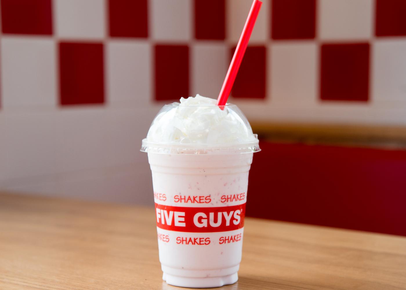 Milkshakes in Singapoe: Five Guys