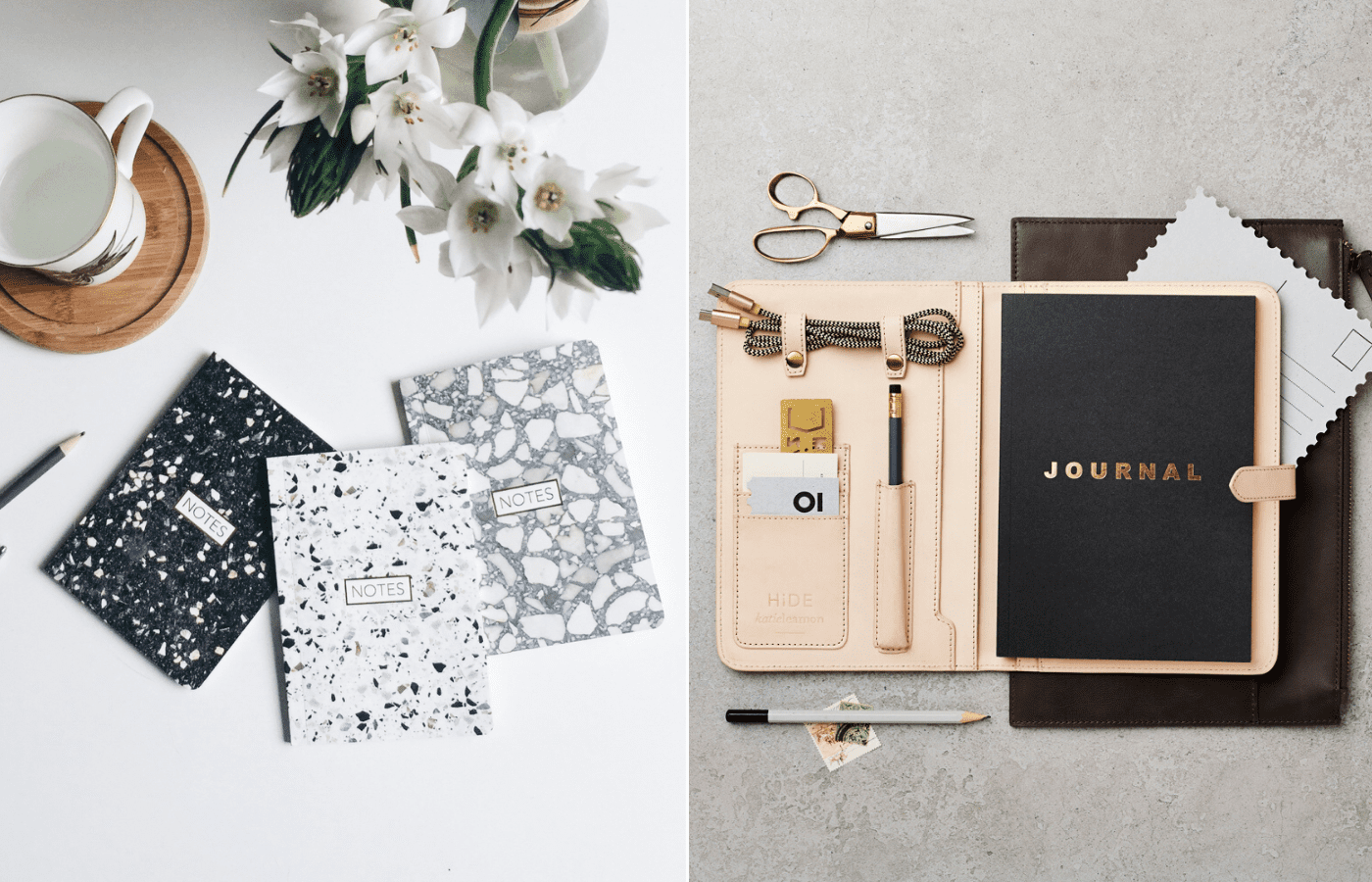 stationery and journals