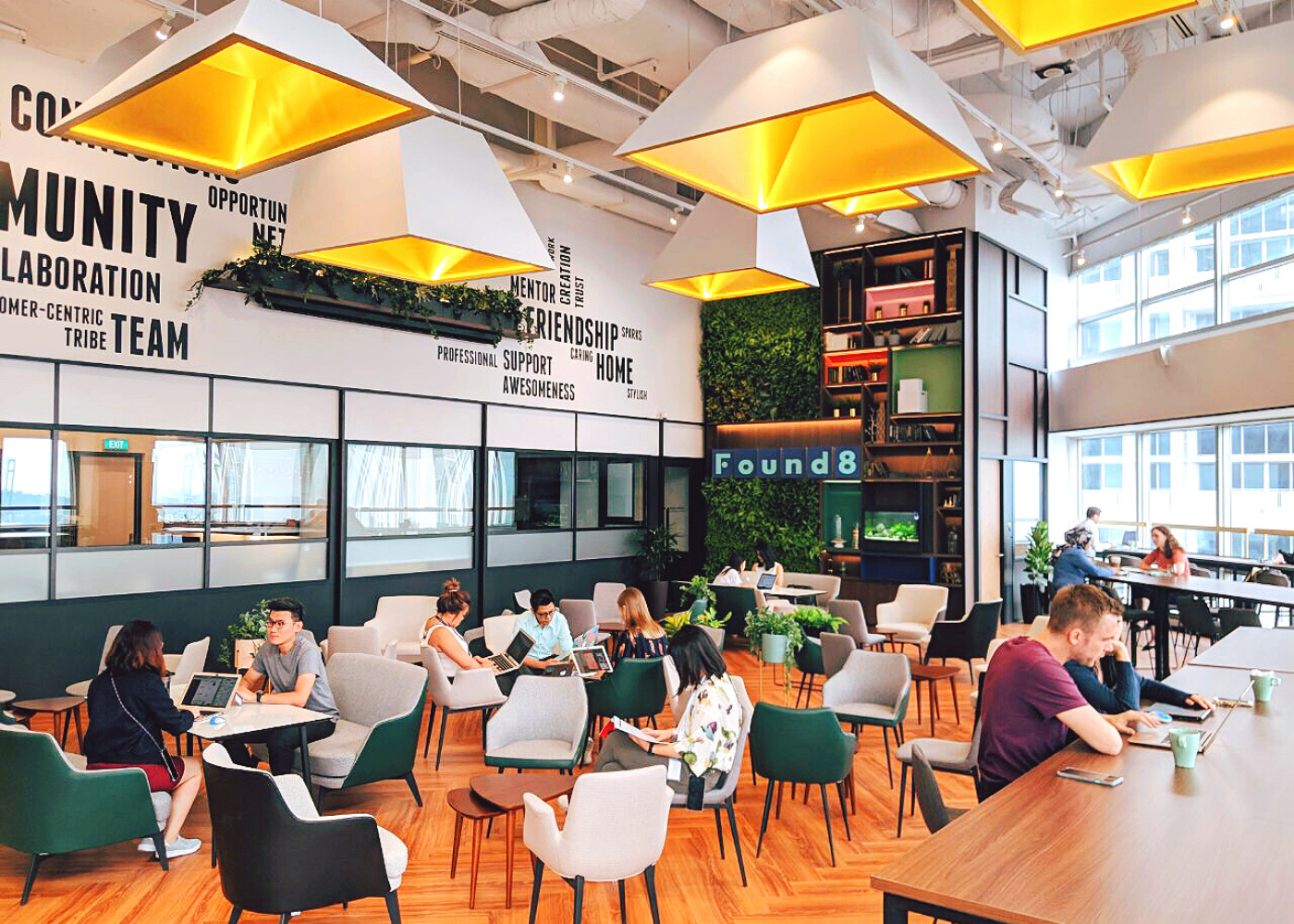 ICYMI: Team Honeycombers is part of Found8's coworking community and here's why we love it