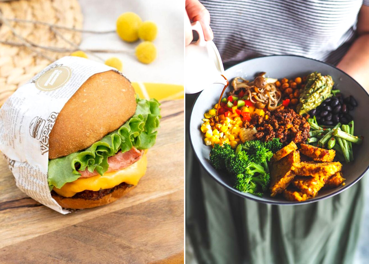 Going for vegan vibes? Dig into these cafés and restaurants for your plant-based eats
