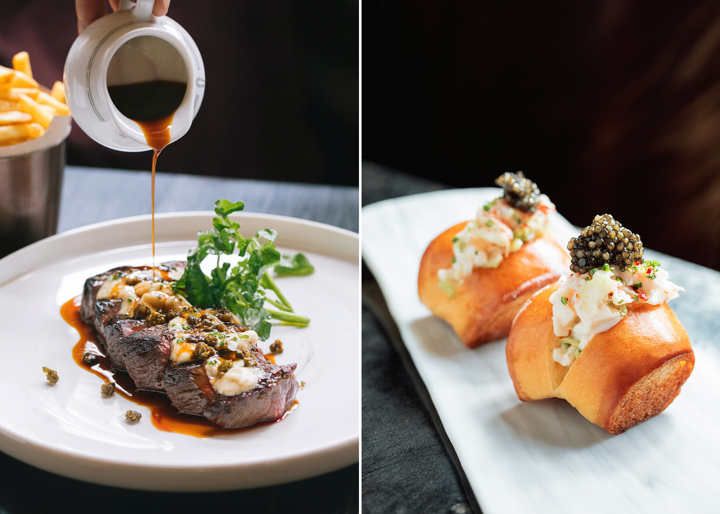 Dishes as delicious as they look. Photography: Atlas
