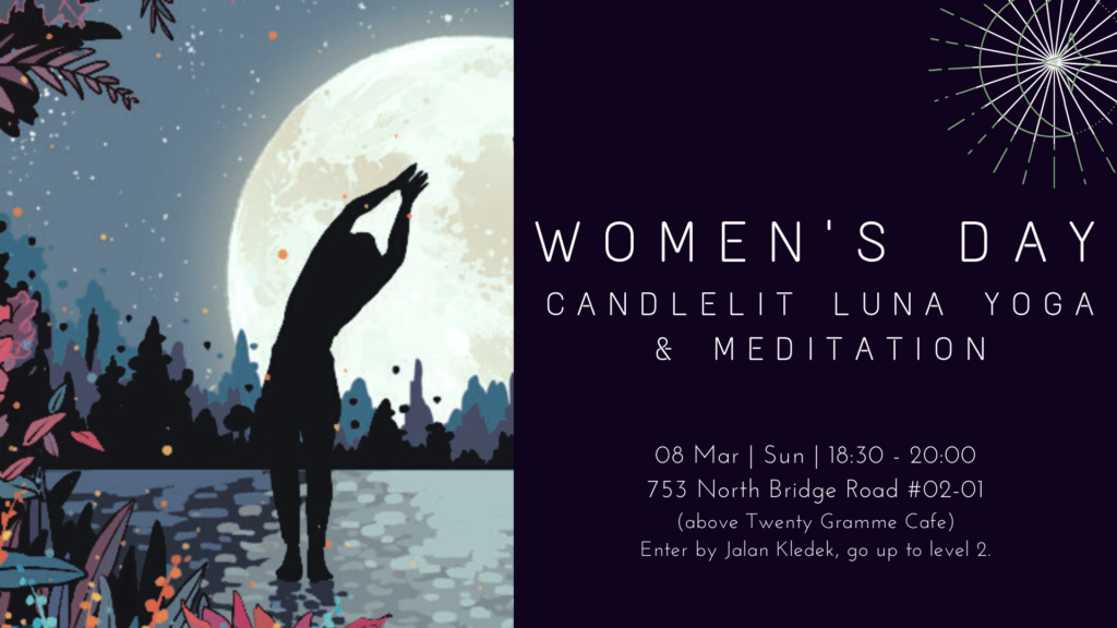 Women's day Candlelit Luna Yoga & Meditation