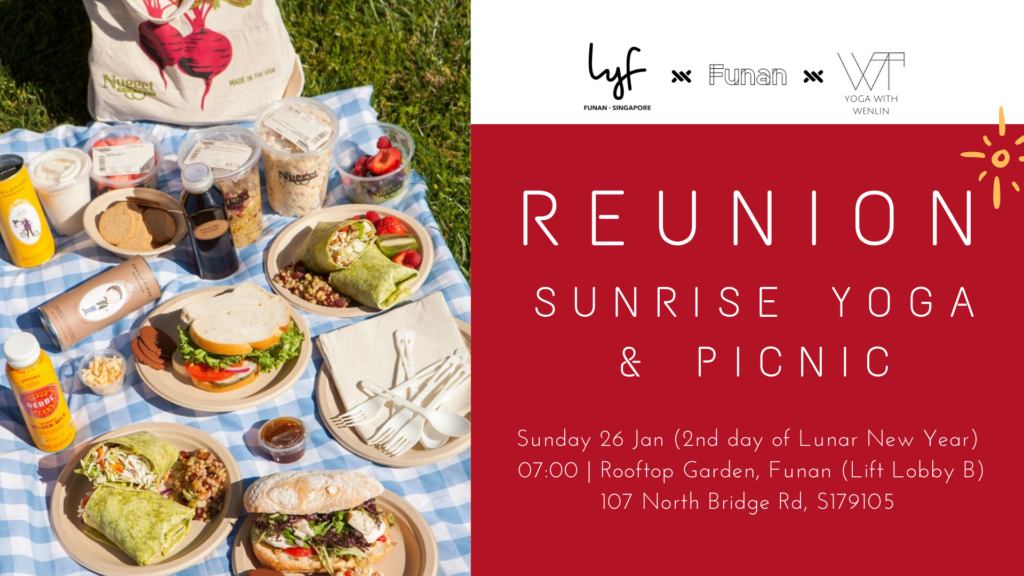 Reunion CNY Sunrise Yoga & Picnic