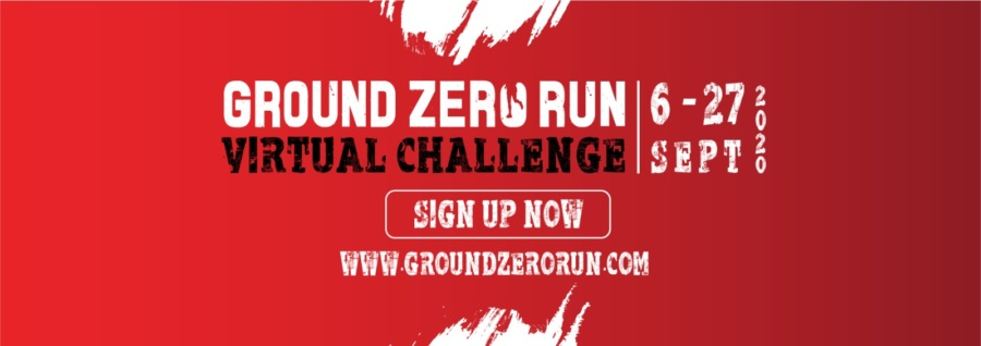 Ground Zero Run for Humanity 2020: Virtual challenge