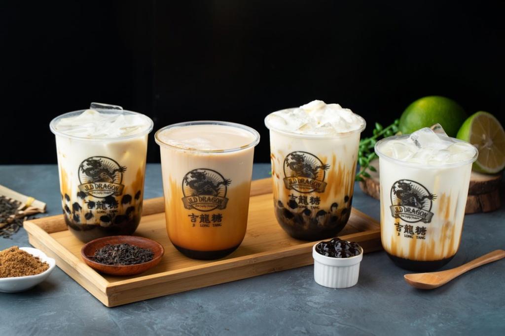 Okinawa Brown Sugar Bubble Tea Chain JLD Dragon (吉龙糖) sneak preview