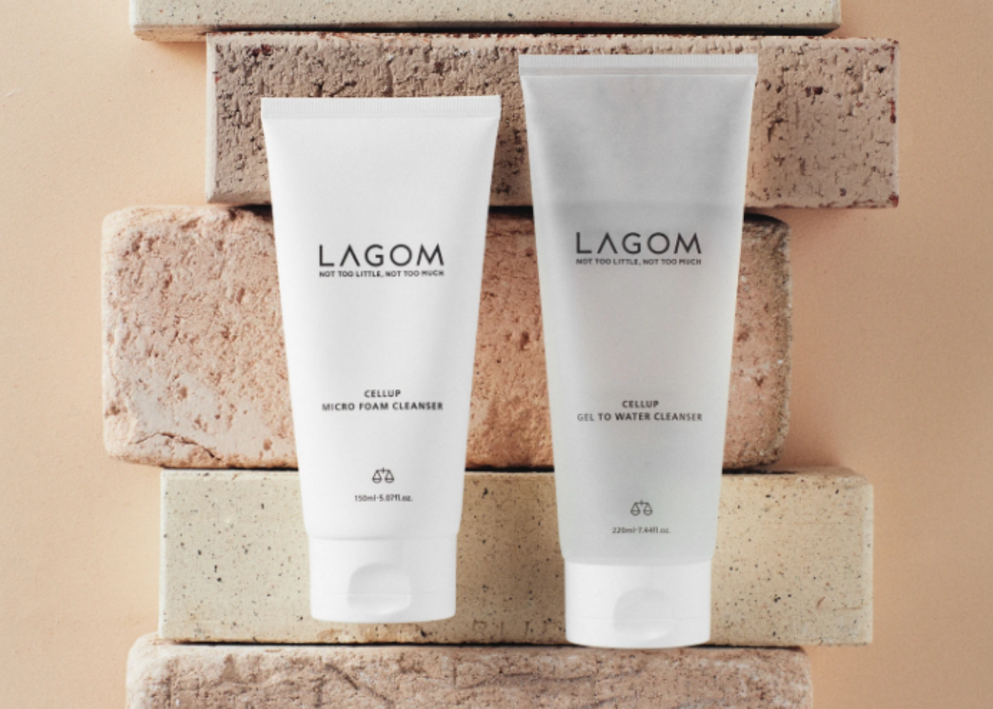 Lagom Cellup Get-to-Water cleanser