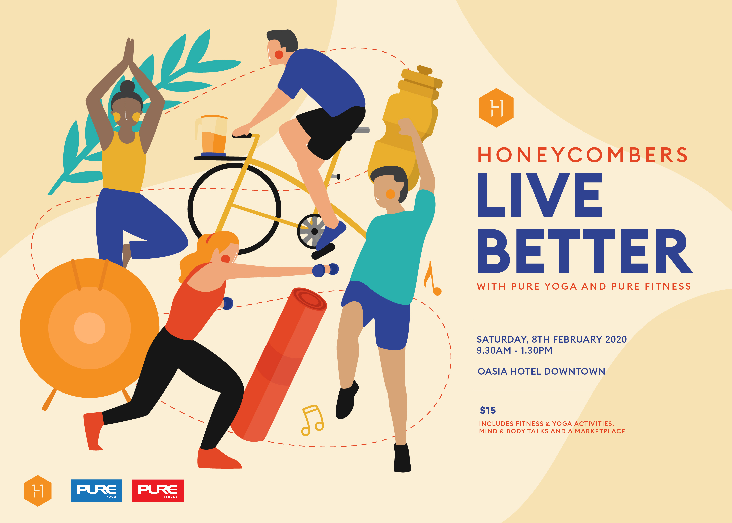 Live Better: Wellness sessions, rejuvenating workouts, mindful talks and more with Pure Yoga and Pure Fitness