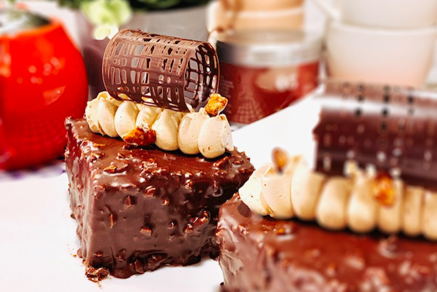Rocher Cake Baking Class by Chef Mayumi (Hands-on)