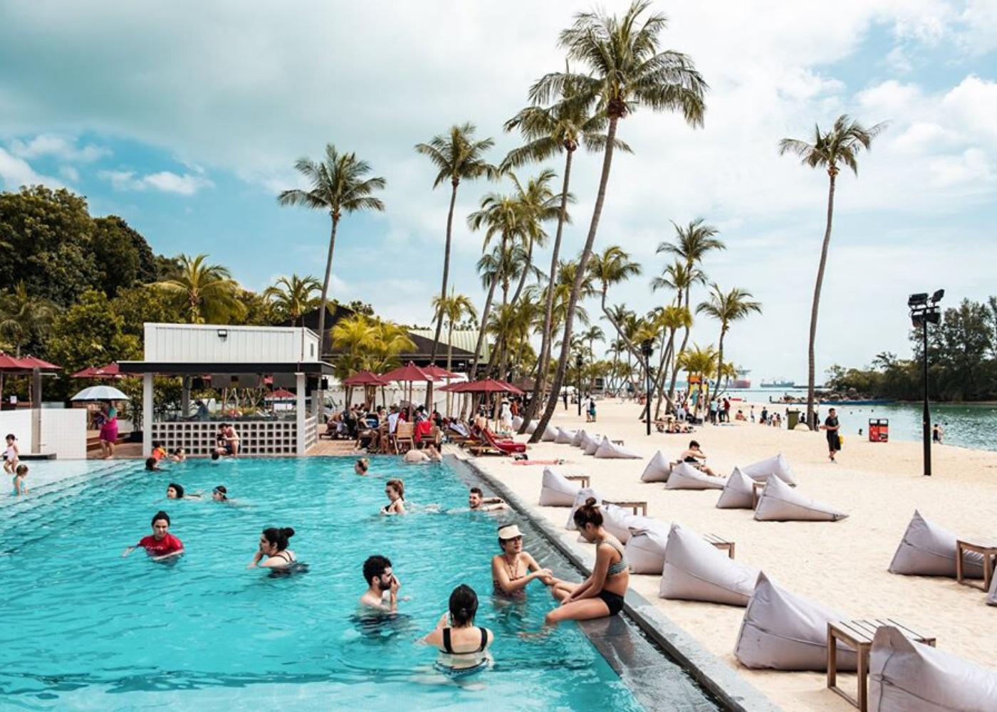 Rumours Beach Club | new bars singapore 2020