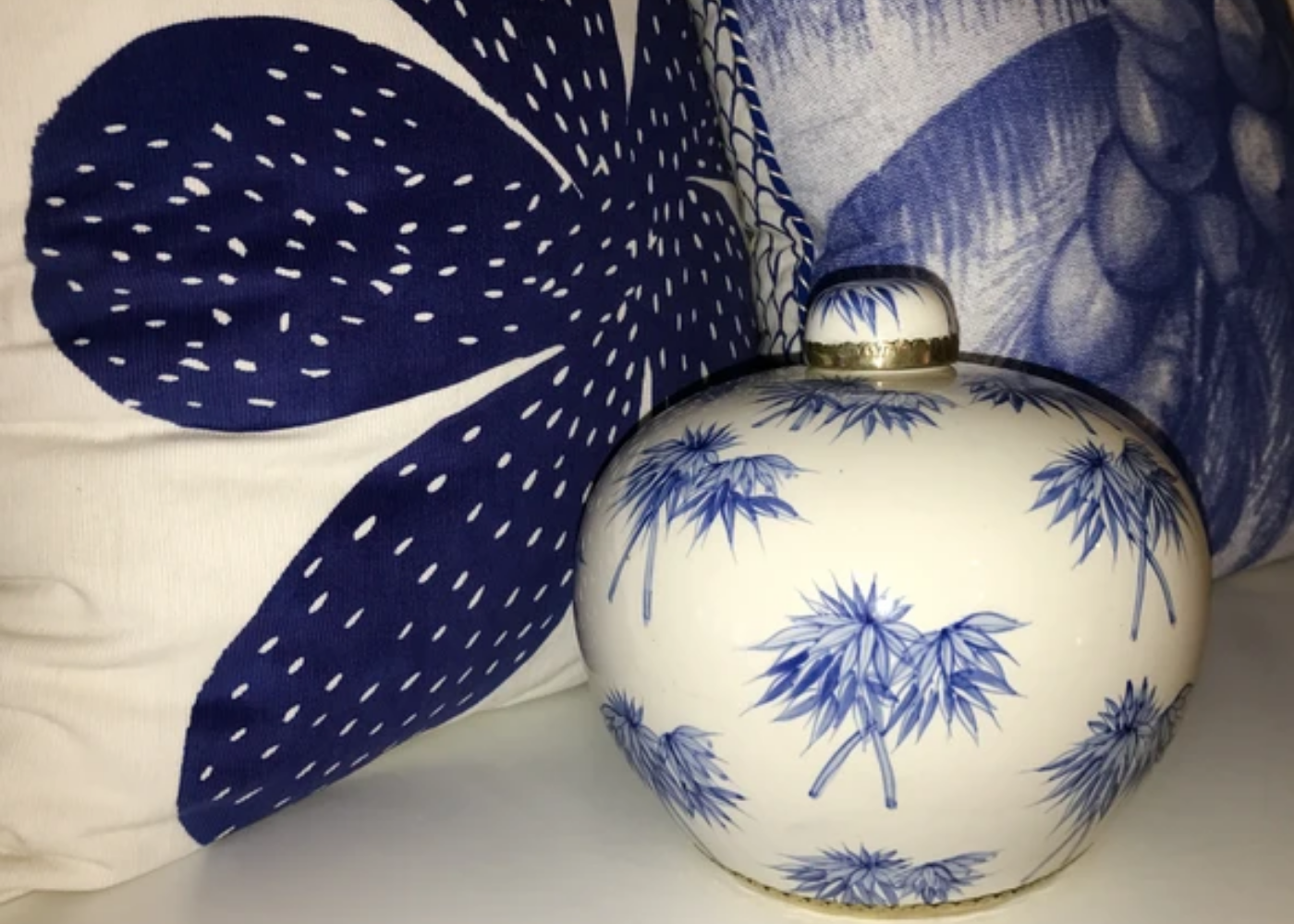 Shiva Designs | Blue and White chinoiserie