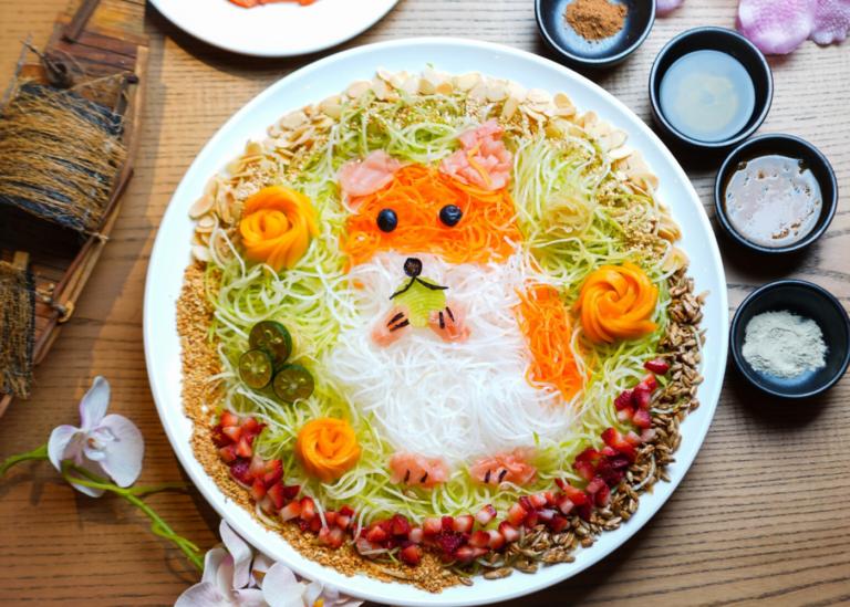 Unusual yusheng? You betcha! Try lo hei with alternatives like sakura ebi, Thai green papaya and unagi