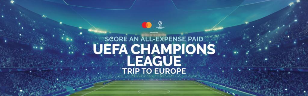 UEFA Champions League at Changi Airport