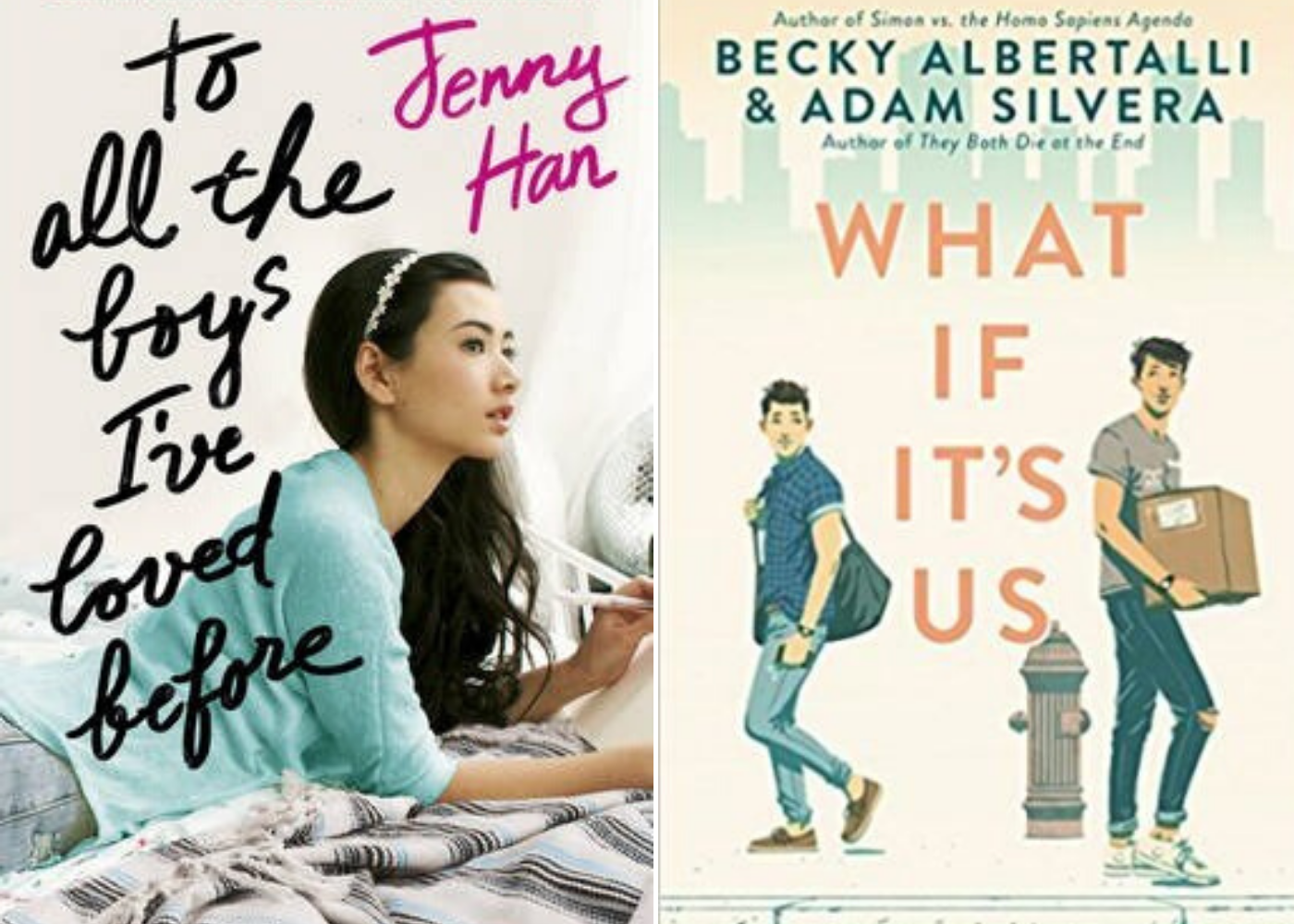 To All The Boys I've Loved Before | What If It's Us | Honeycombers Book Club