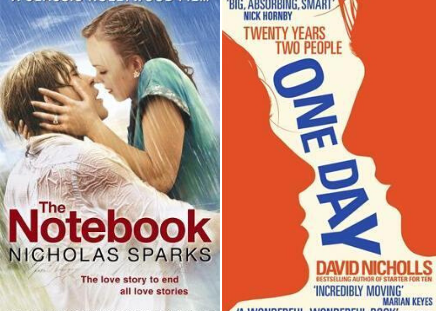 The Notebook | One Day | Honeycombers Book Club