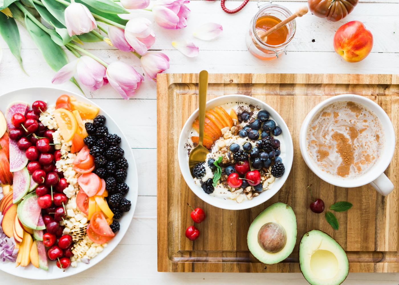 healthy fruit bowls
