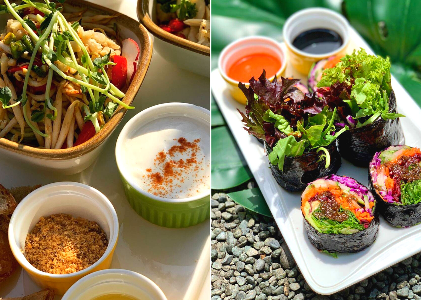Where to find vegan food in Singapore: The Living Cafe