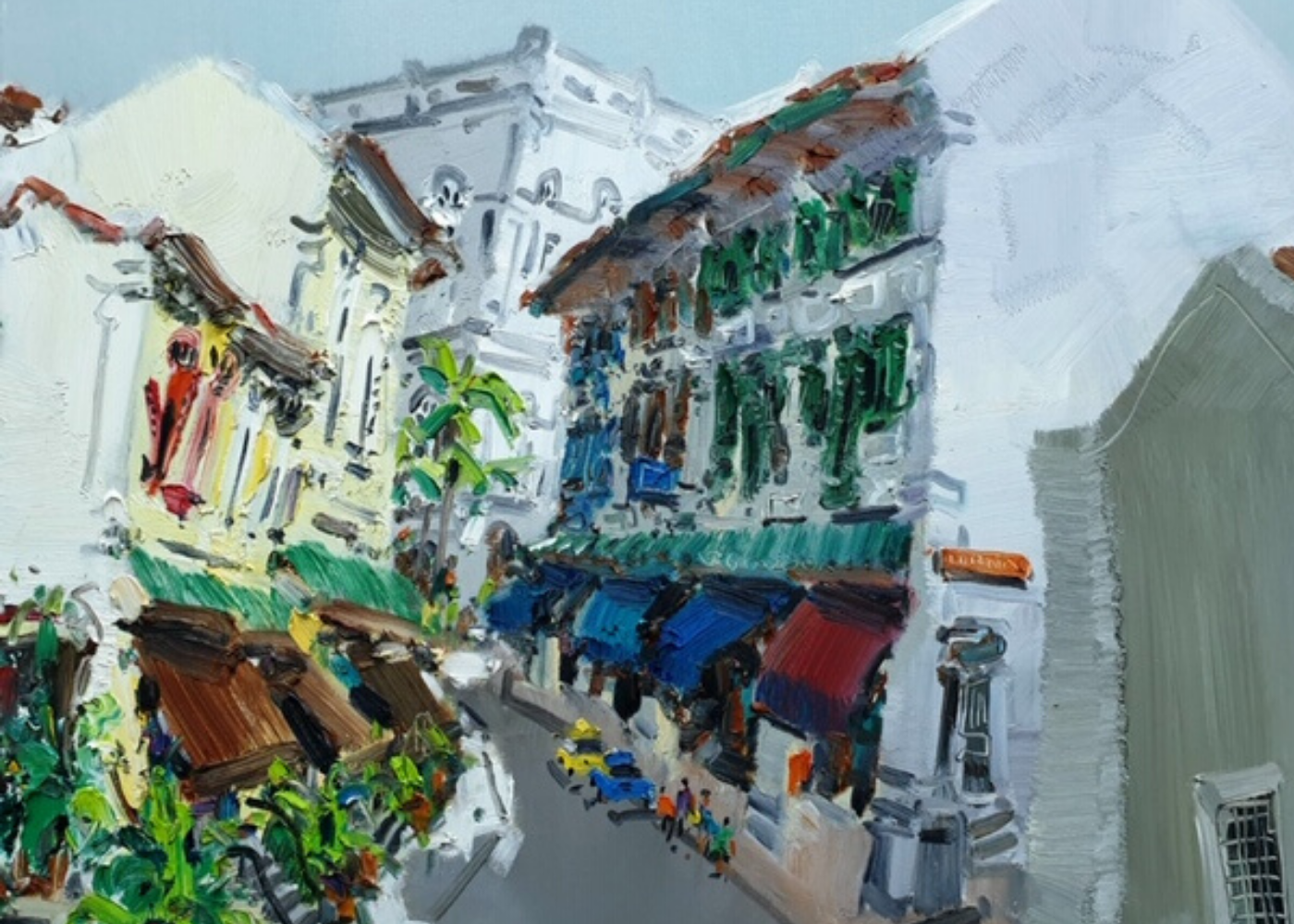 Streetscape of Singapore | Zhu Hong Solo Exhibition | Arts in Singapore