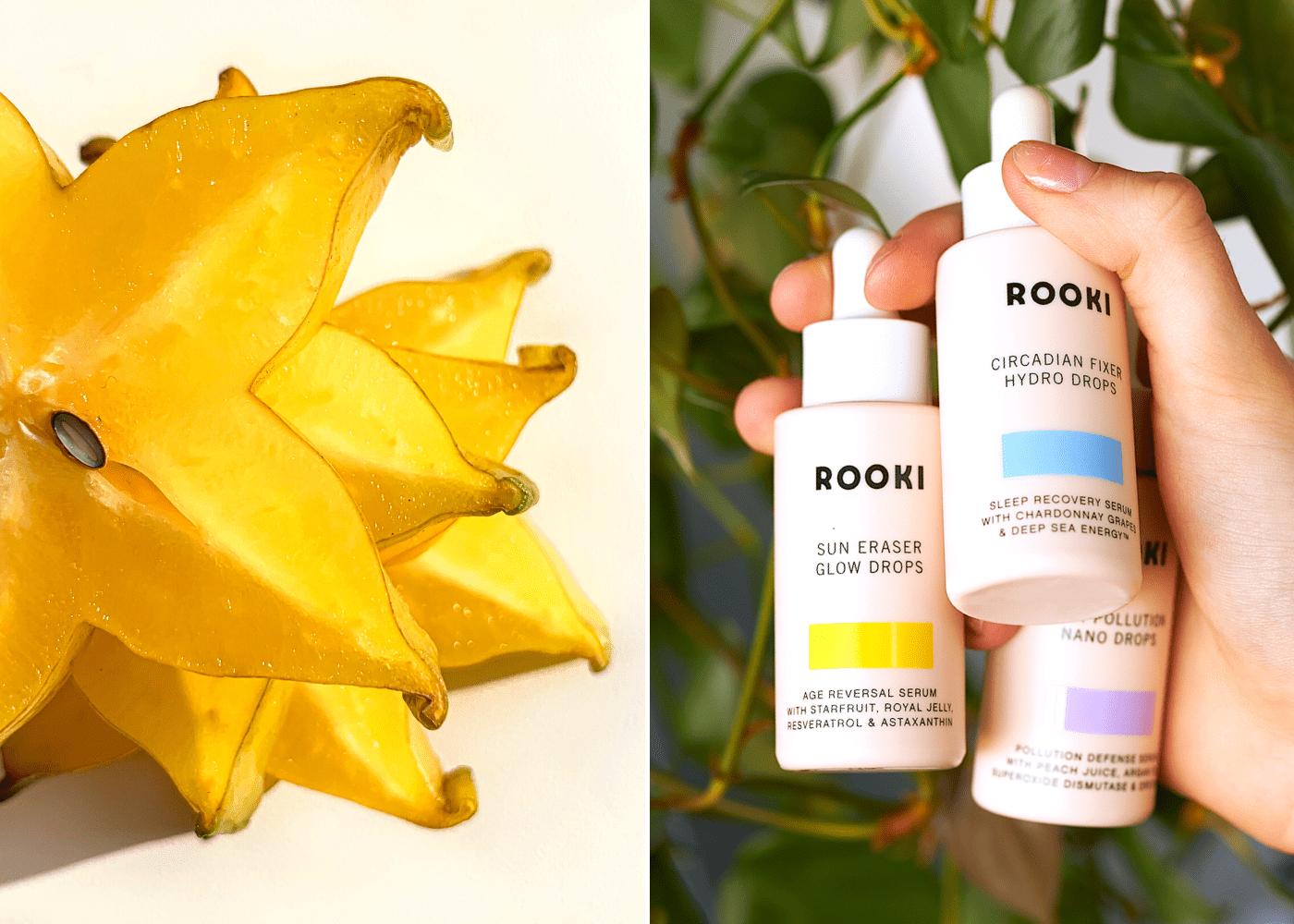 Superfood infused skincare from Rooki