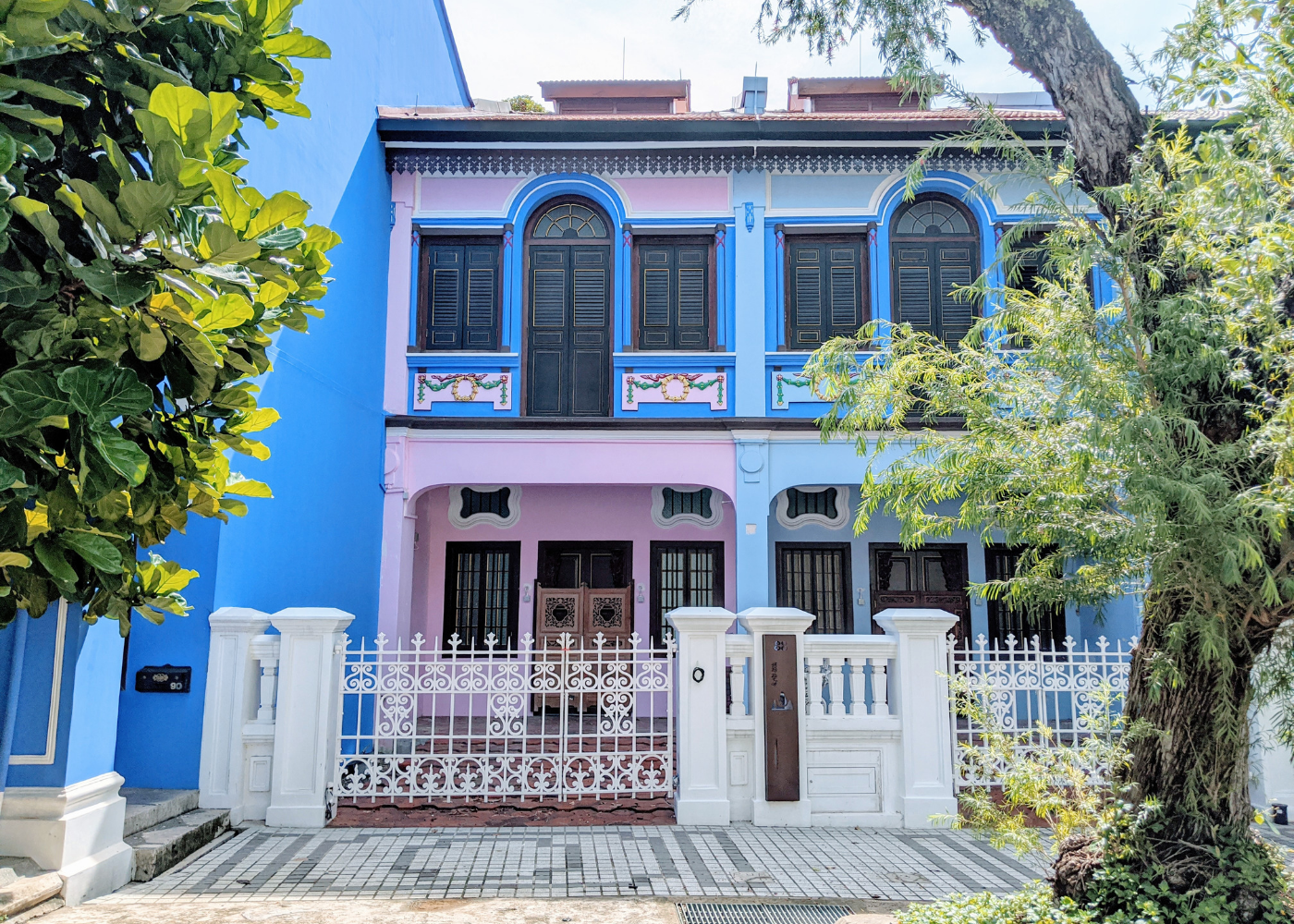 Heritage shophouses in Singapore | Guide to Emerald Hill