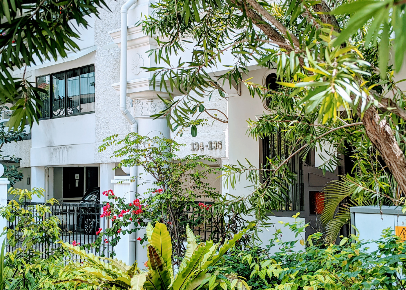 Goodbye heritage houses, hello apartment blocks. | Guide to Emerald Hill