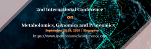 2nd International Conference on  Metabolomics, Genomics and Proteomics