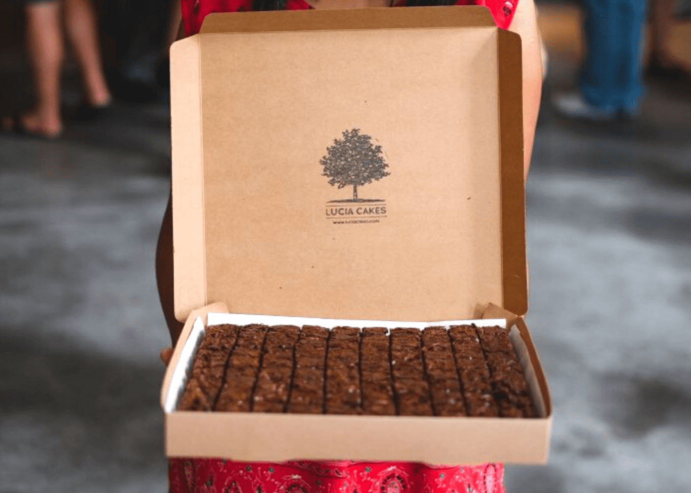 Choc it up to a sweet tooth: Lucia Cakes' addictive brownies have our vote