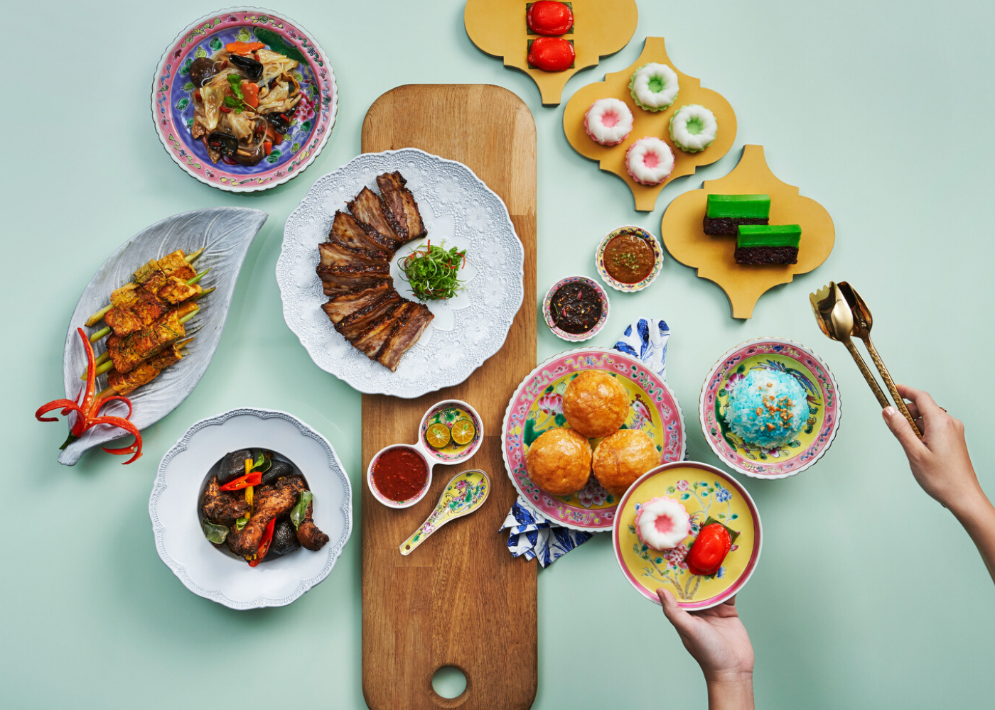 "Peranakan Feast – A ""Tok Panjang"" Experience at AquaMarine"