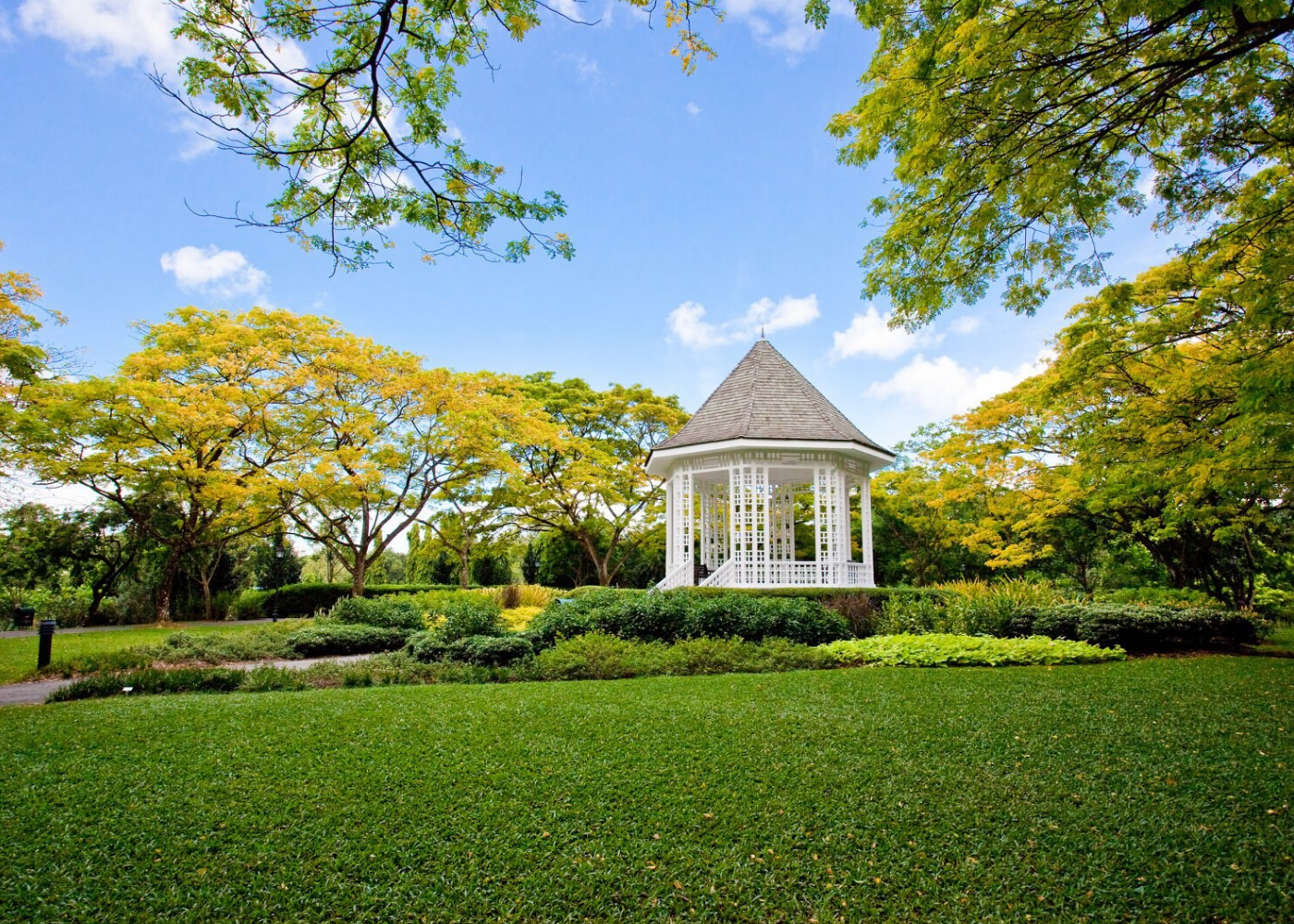 Singapore Botanic Gardens | romantic spots in Singapore