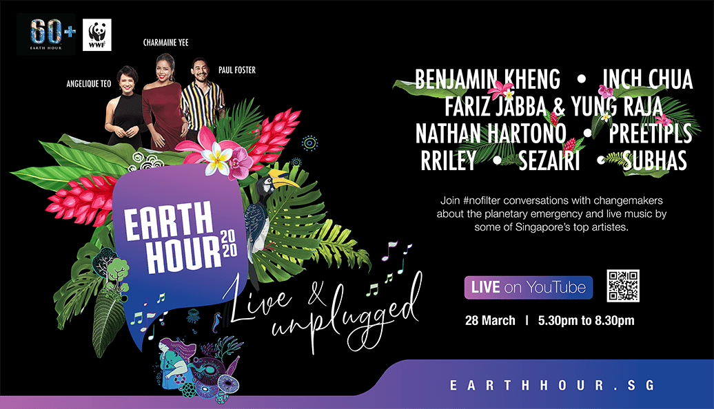 Earth Hour 2020 – Live & Unplugged