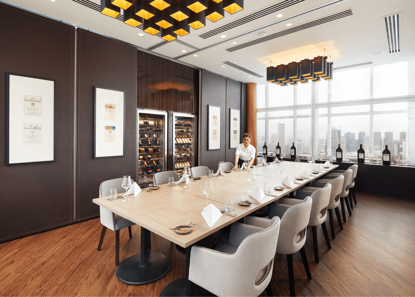 Level 33 | Private dining room