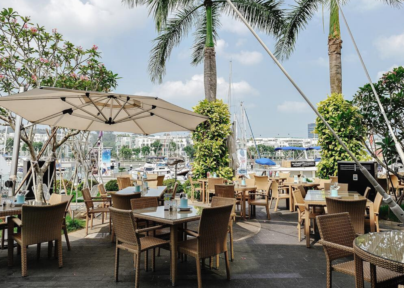 The Prive Group cafes | Alfresco dining in Singapore