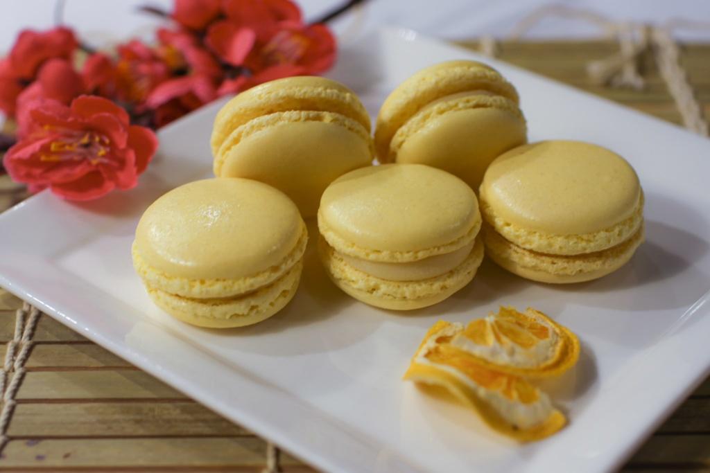 Yuzu Macaron and Mimosa Cake Class by Chef Mayumi (Hands-on)