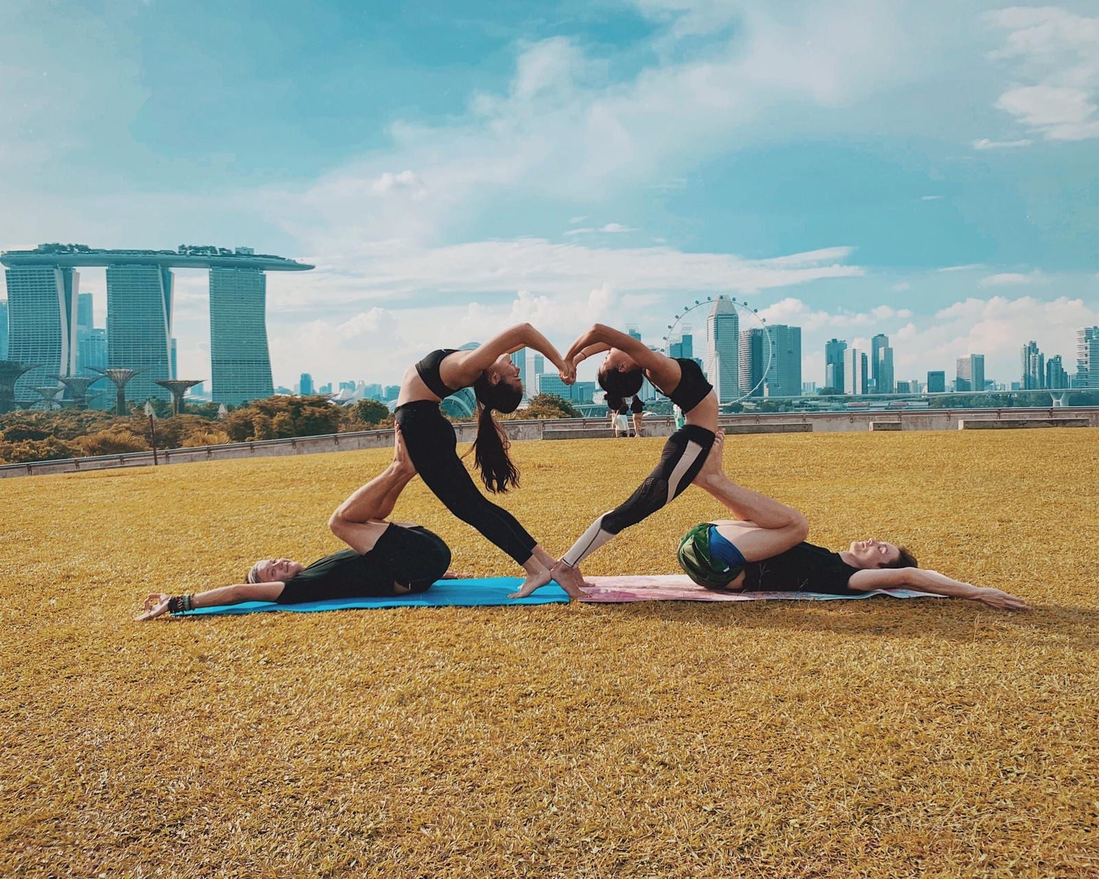 AcroYoga Speed Dating with Broccoli & Dumbbells and Jyan Yoga Studio