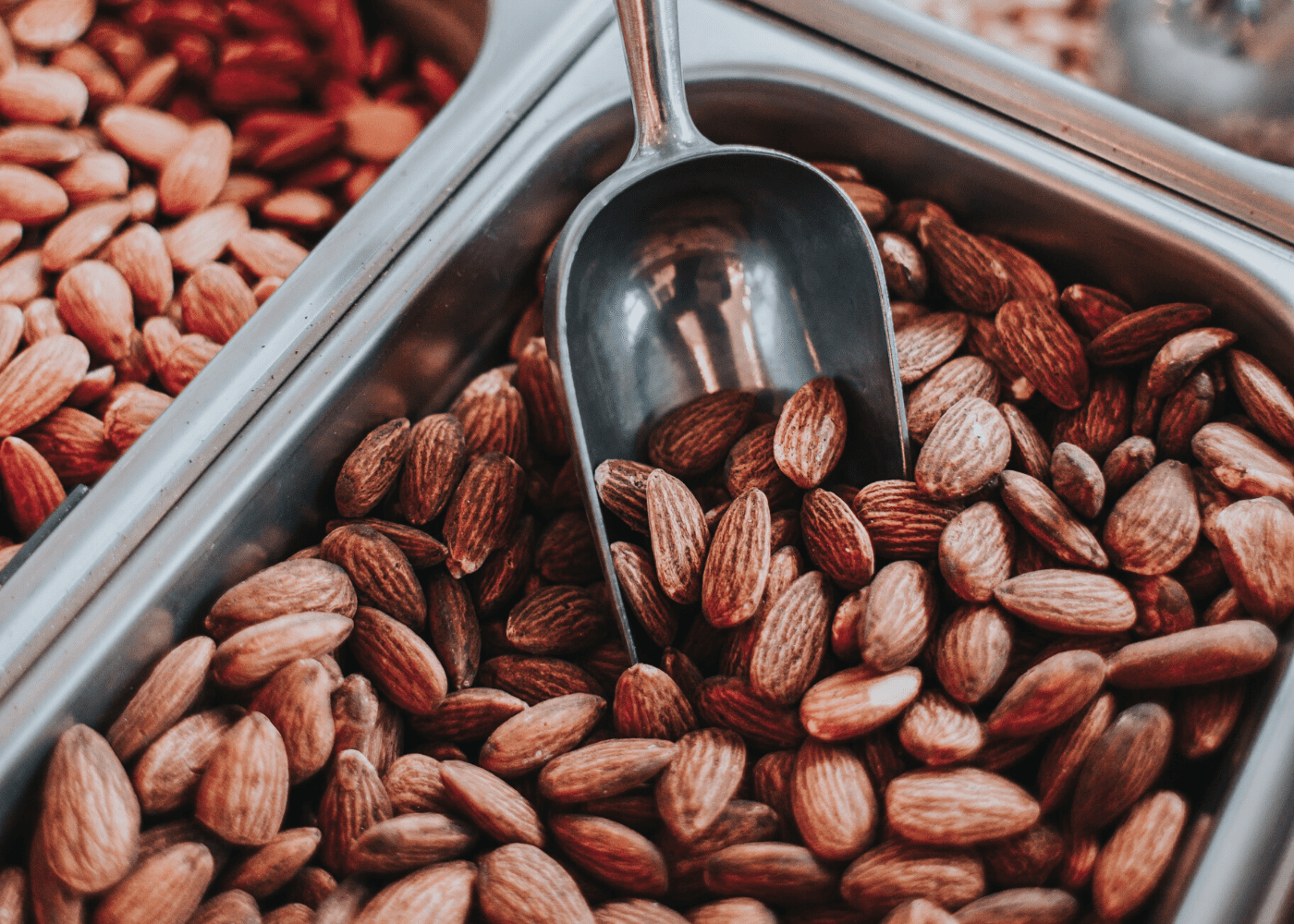 scooping almonds | The best foods to boost your immunity