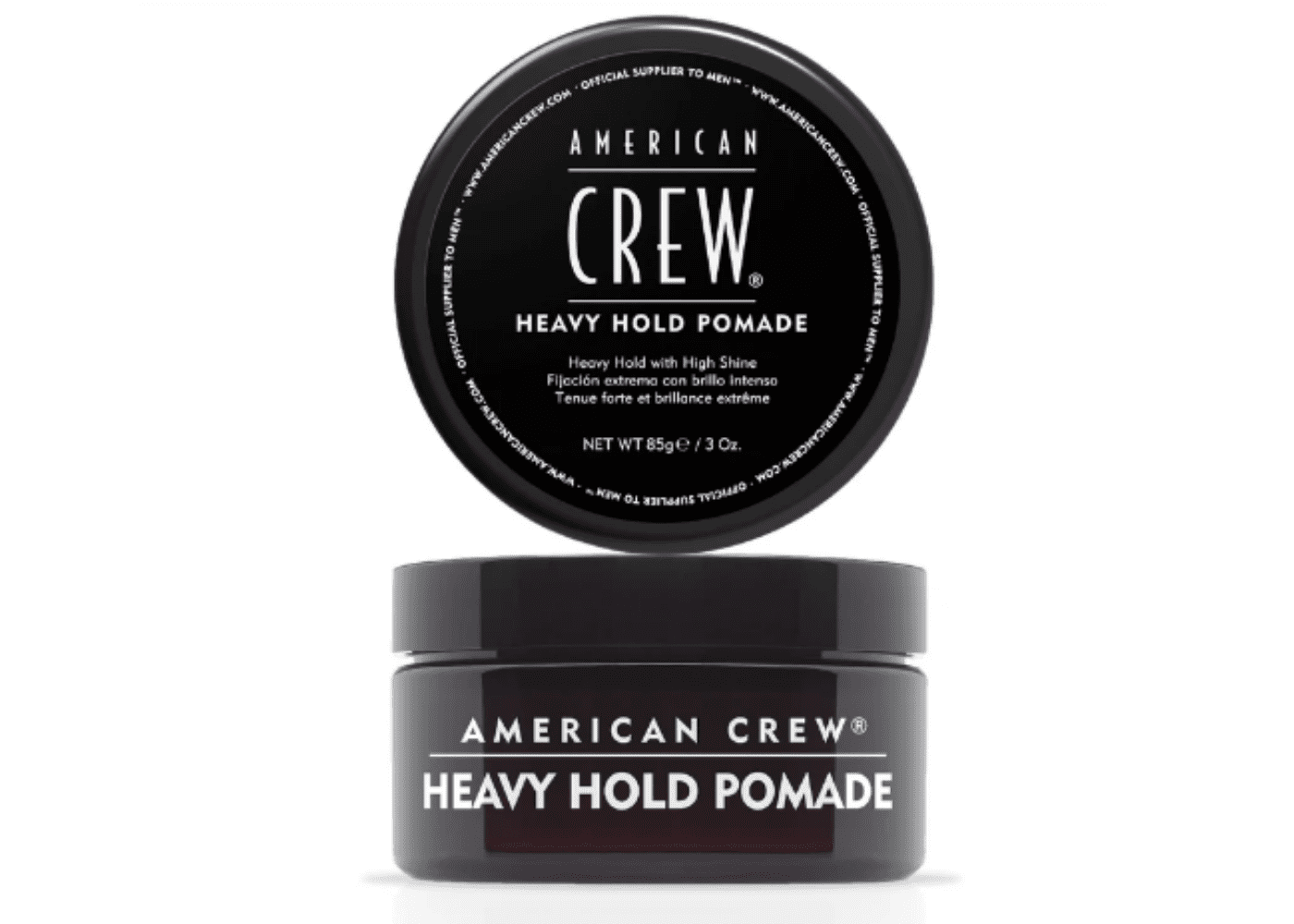 American Crew: Heavy Hold Pomade | men's hair styling products