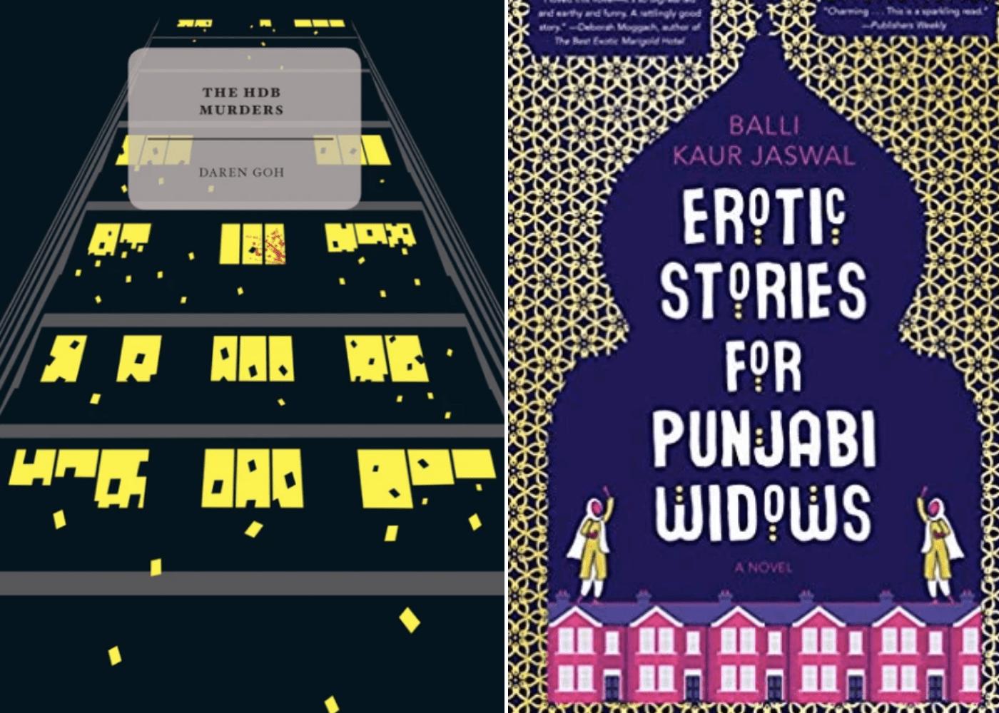 The HDB Murders by Daren Goh | Erotic Stories for Punjabi Widows by Balli Kaur Jaswal | Honeycombers Book Club
