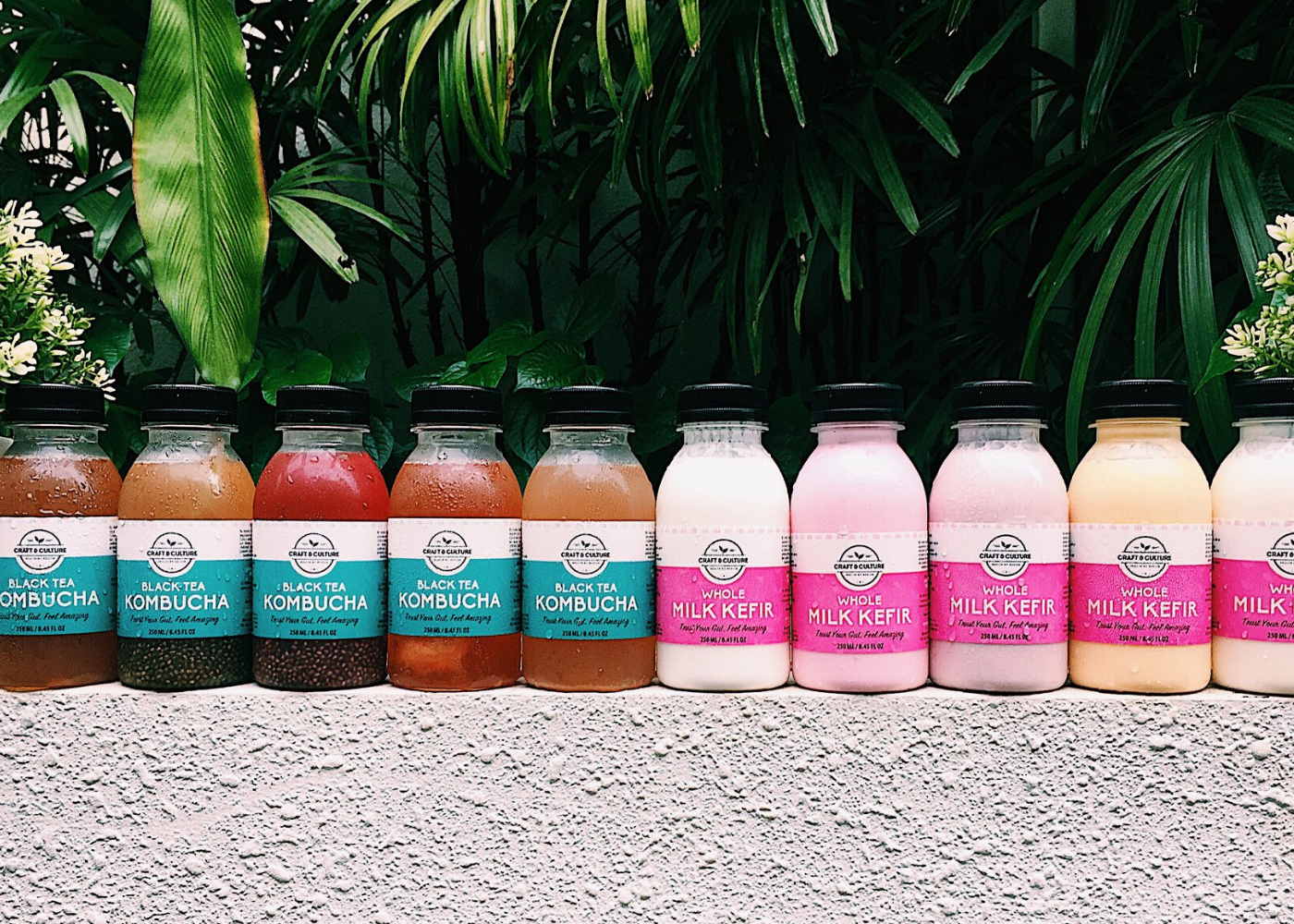 Let's talk about gut health: These brands make their own kefir and kombucha in Singapore