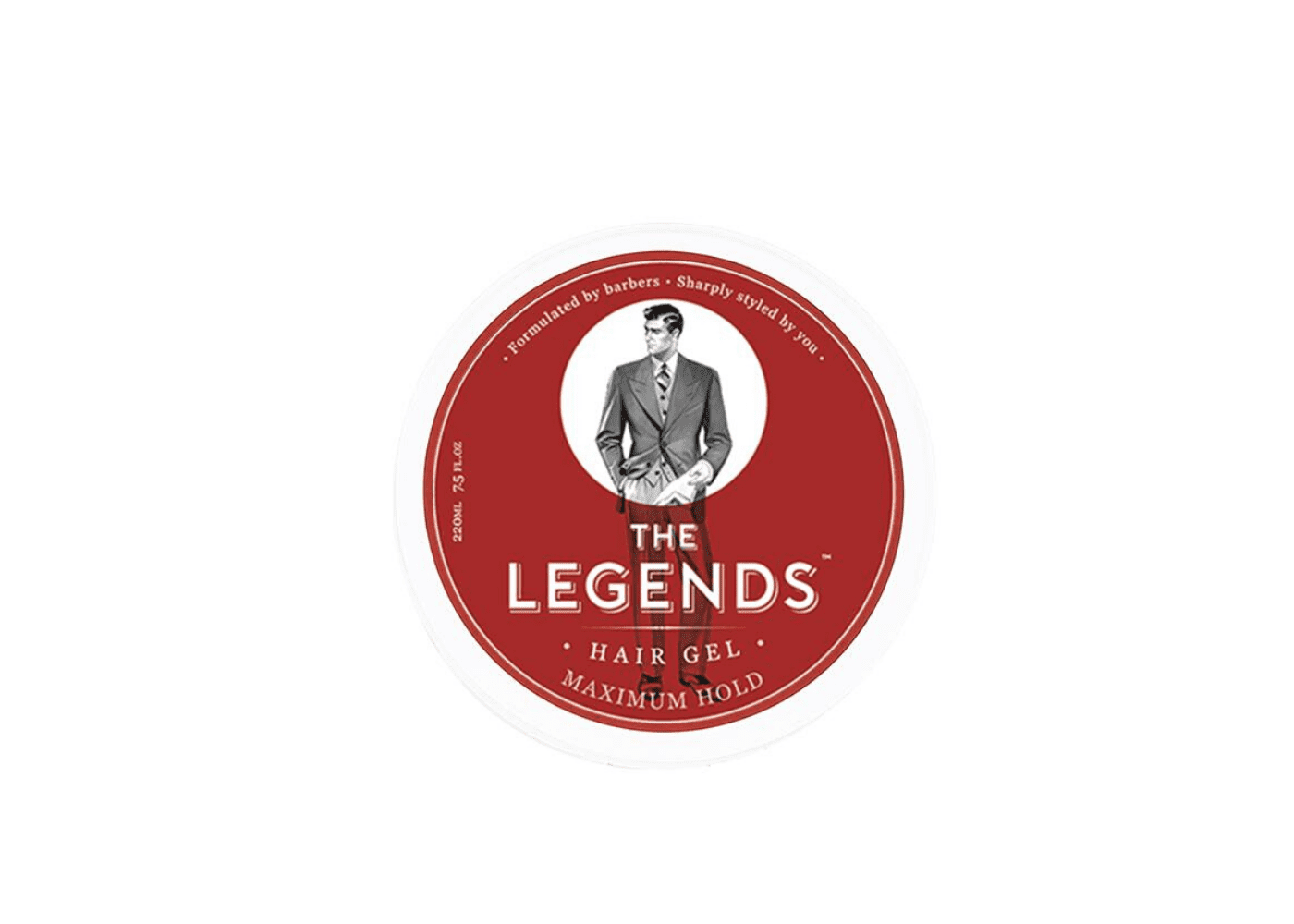 The Legends London: Maximum Hold Hair Gel| men's hair styling products