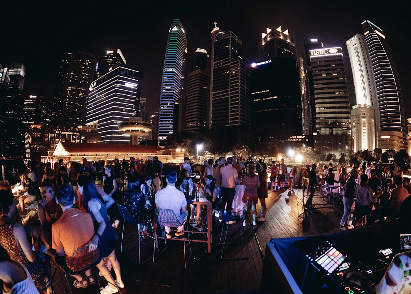 monti rooftop bar in singapore