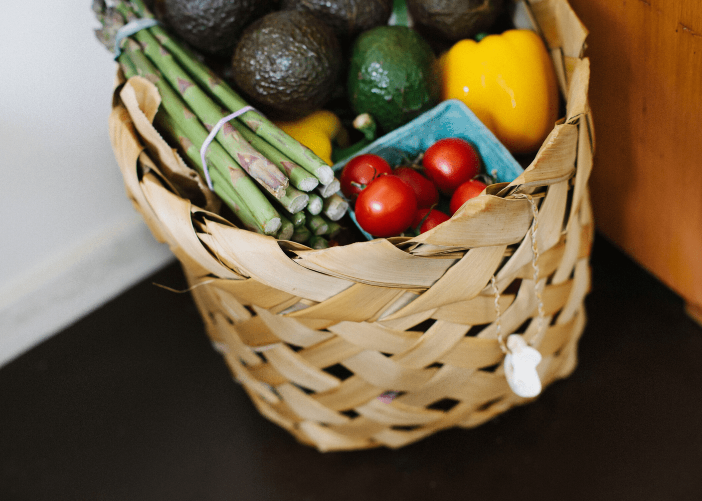 basket with fruits and vegetables | groceries | DBS Go Online