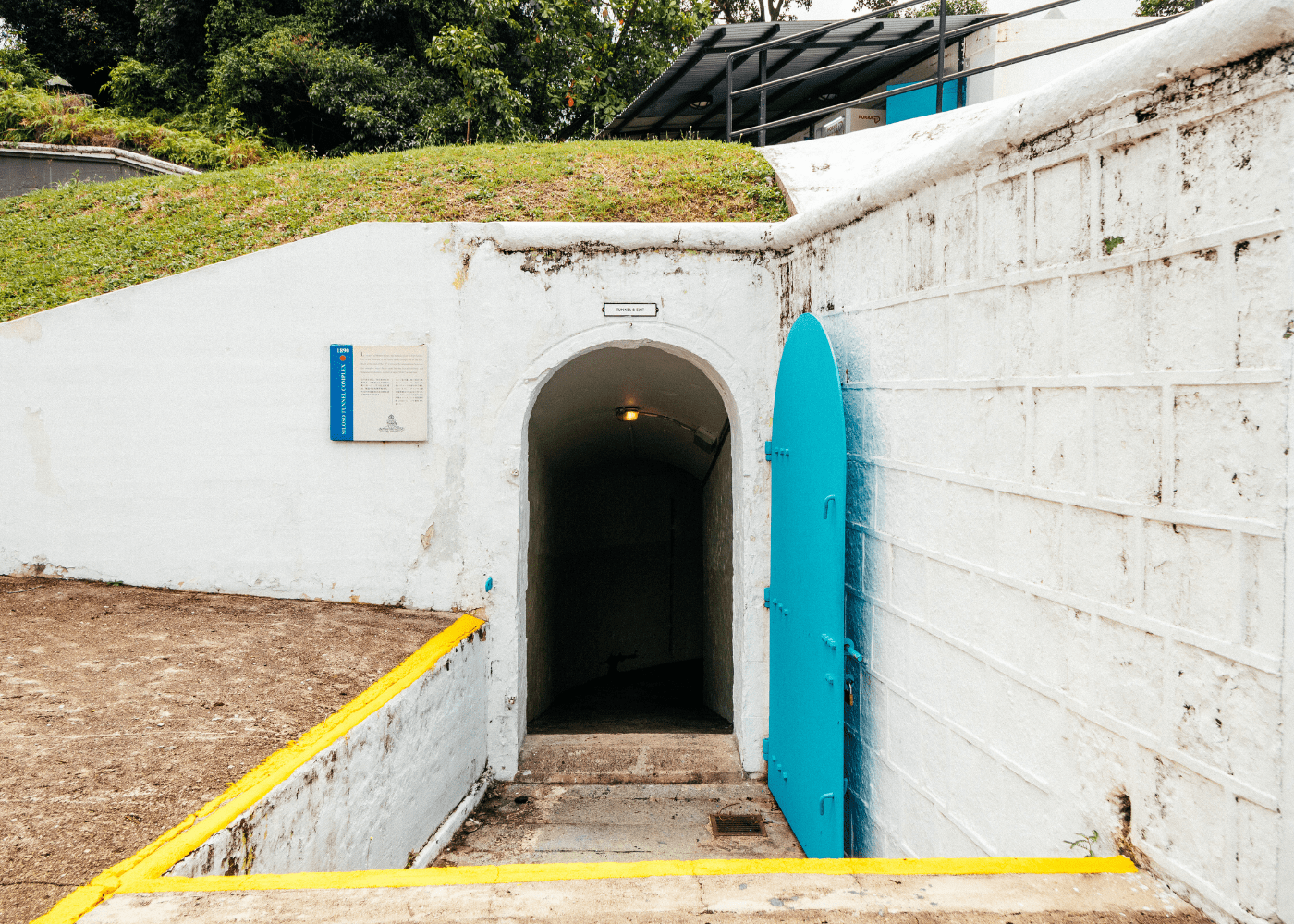 Our guide to Fort Siloso: Underground tunnels